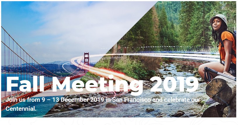 Help requested to 'run the gauntlet' at 2019 AGU meeting