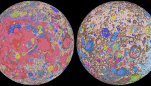 Geologic Map of Moon