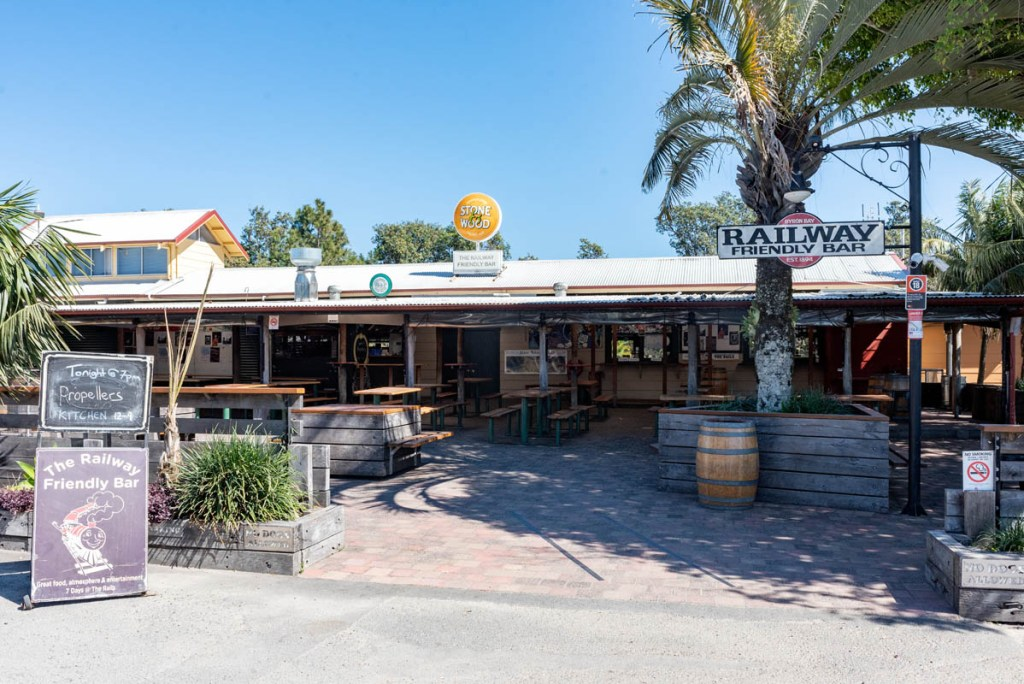 Railway Friendly Bar, Byron Bay