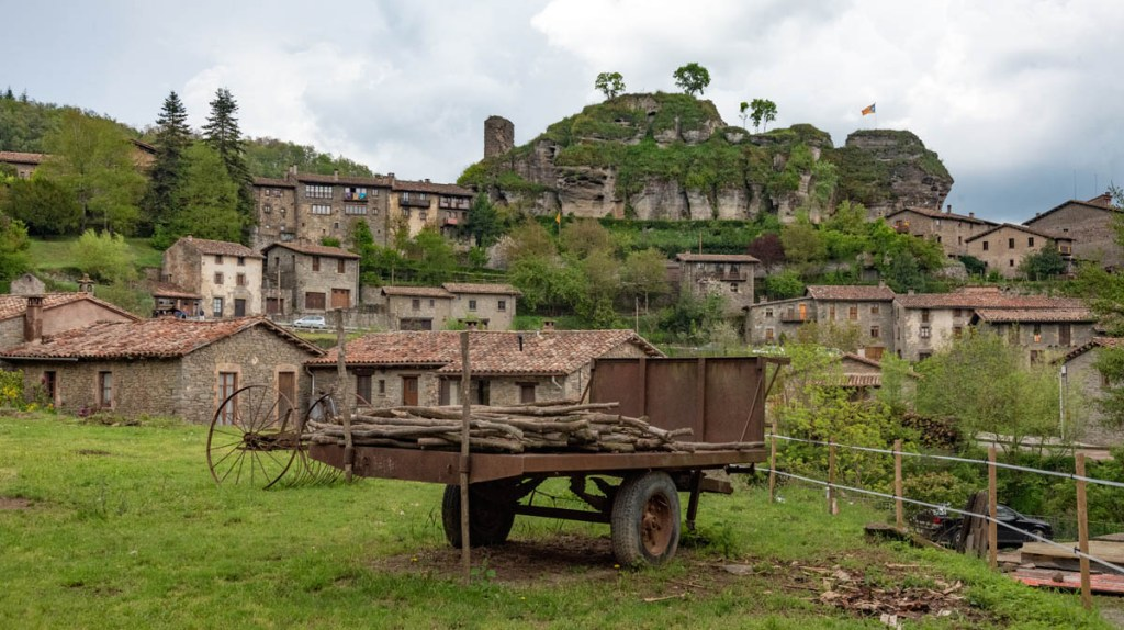 Rupit is forged out of Catalan rock