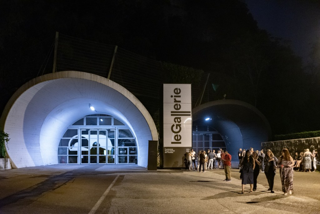 Traverse19 kicked off its Trento celebrations in Le Gallerie tunnels