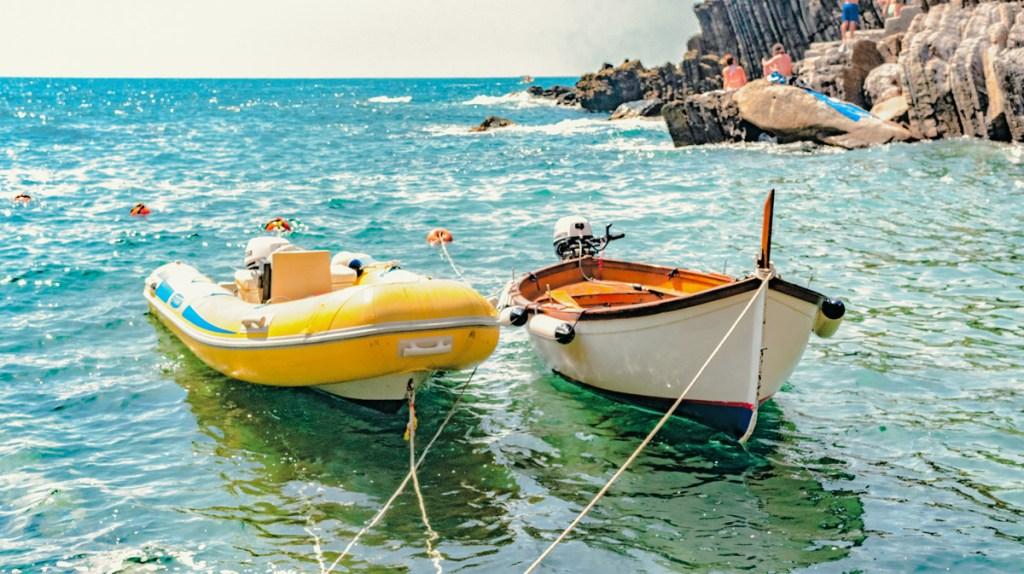 Riomaggiore, Cinque Terre is beautiful in early summer