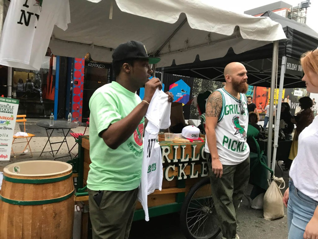 Pickle Day NYC is a fun celebration in the Lower East Side