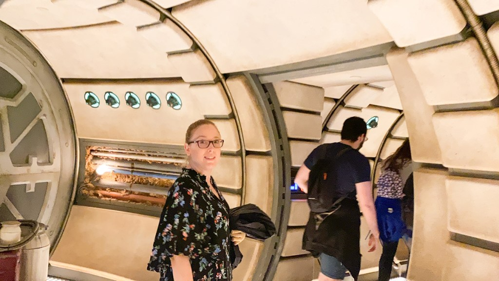 Star Wars Smugglers Run at Disneyworld makes you feel like you're inside the Millennium Falcon