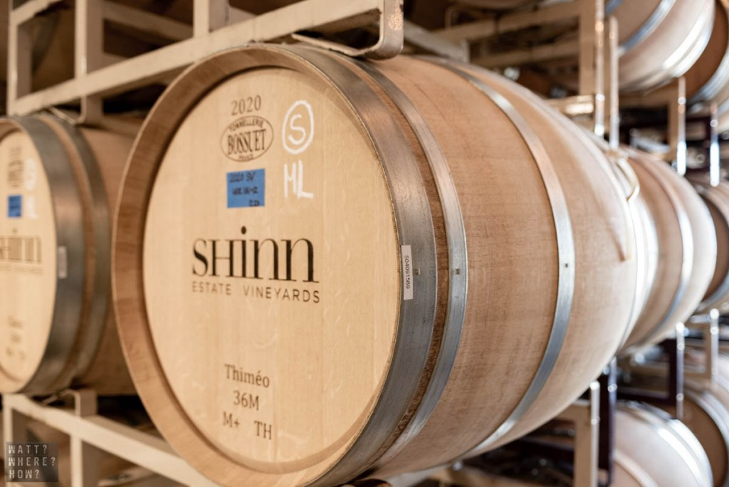 Formerly the Shinn Estate vineyards, the new owners are reinventing the boutique winery as the Rose Hill Estate