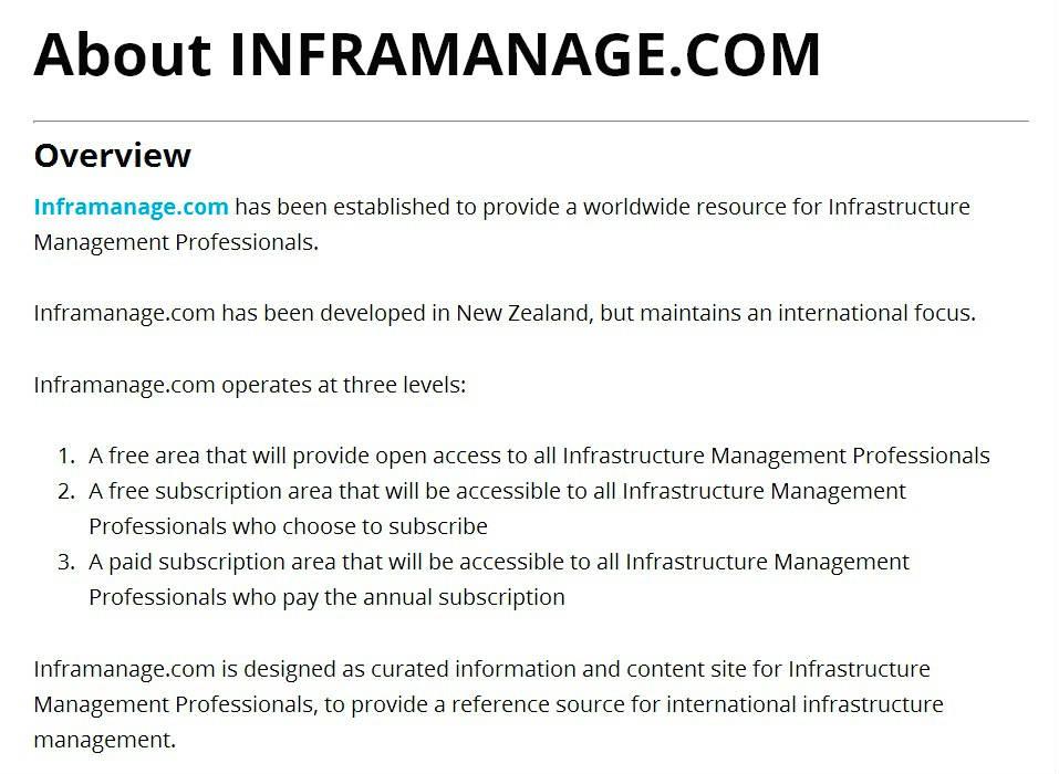 Inframanage.com