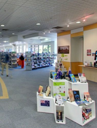 Fendalton Library has nice atmosphere