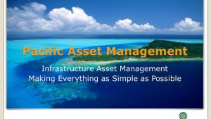 simple infrastructure asset management