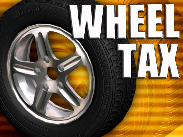 Image result for wheel tax