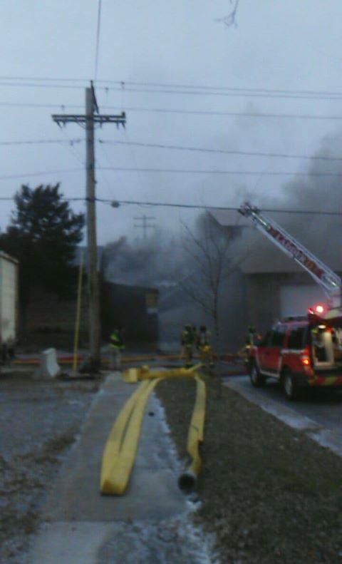 West Street fire