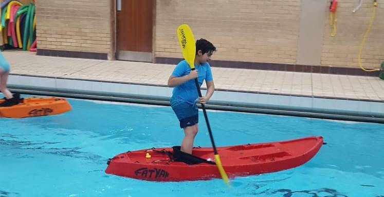 Fun BBC Children in Need supported kayak session