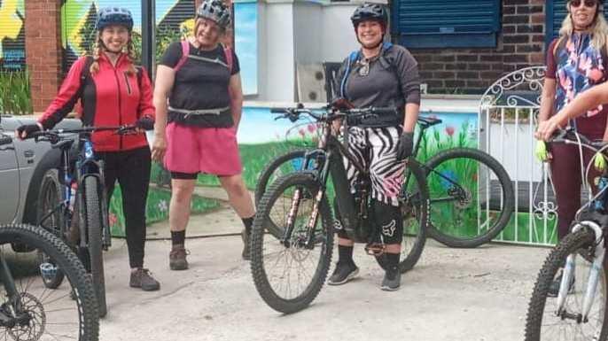 Fantastic women's bike ride