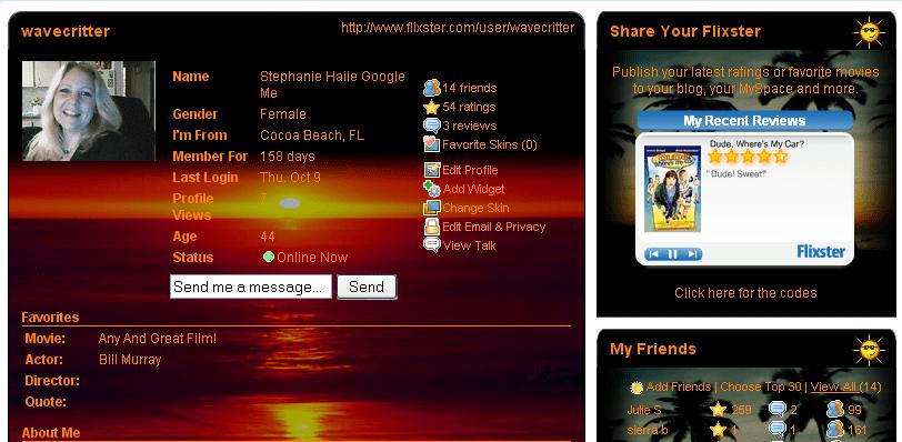 Flixster Wavecritter
