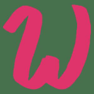 w for wavelength