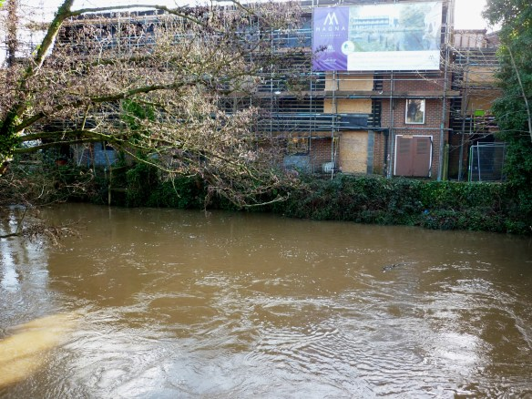 Riverside development Godalming alongside River Wey.JPG