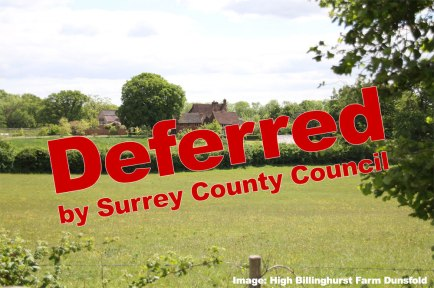 ZOOM in on the UK Oil and Gas debate tomorrow at Surrey County Council? Oh! No you can't!
