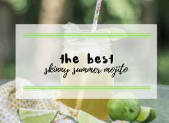 the best skinny summer mojito recipe