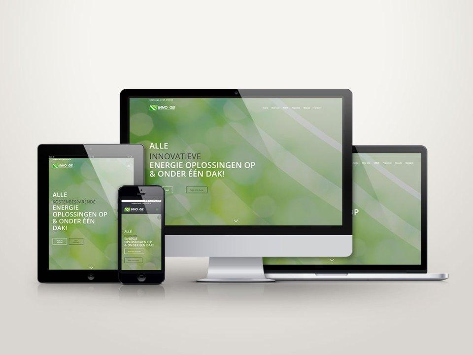 De nieuwe responsive website van Inno-gie