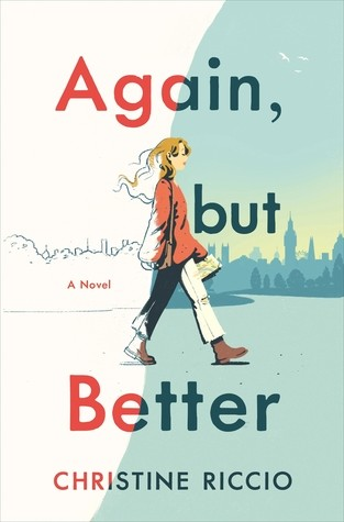 Cover image of Again, but Better by Christine Riccio