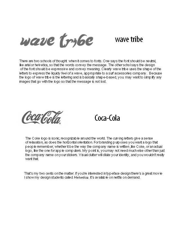 Wave Tribe Font
