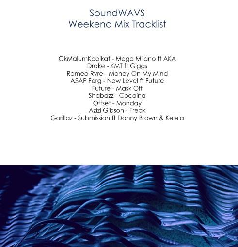 weekend mix 2 tracklist