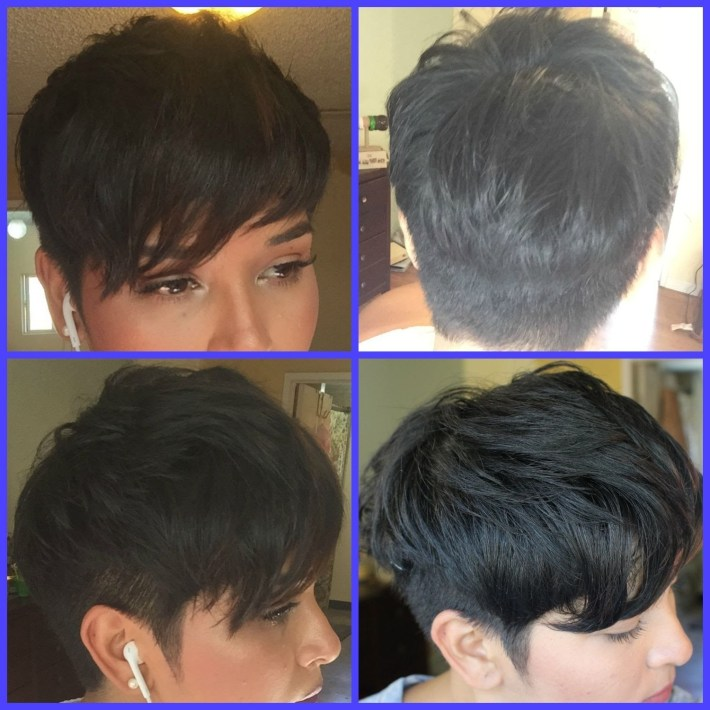 About My Pixie Haircut For Thick Hair The Pixie Diaries - Youtube intended for Pixie Haircut For Thick Coarse Hair