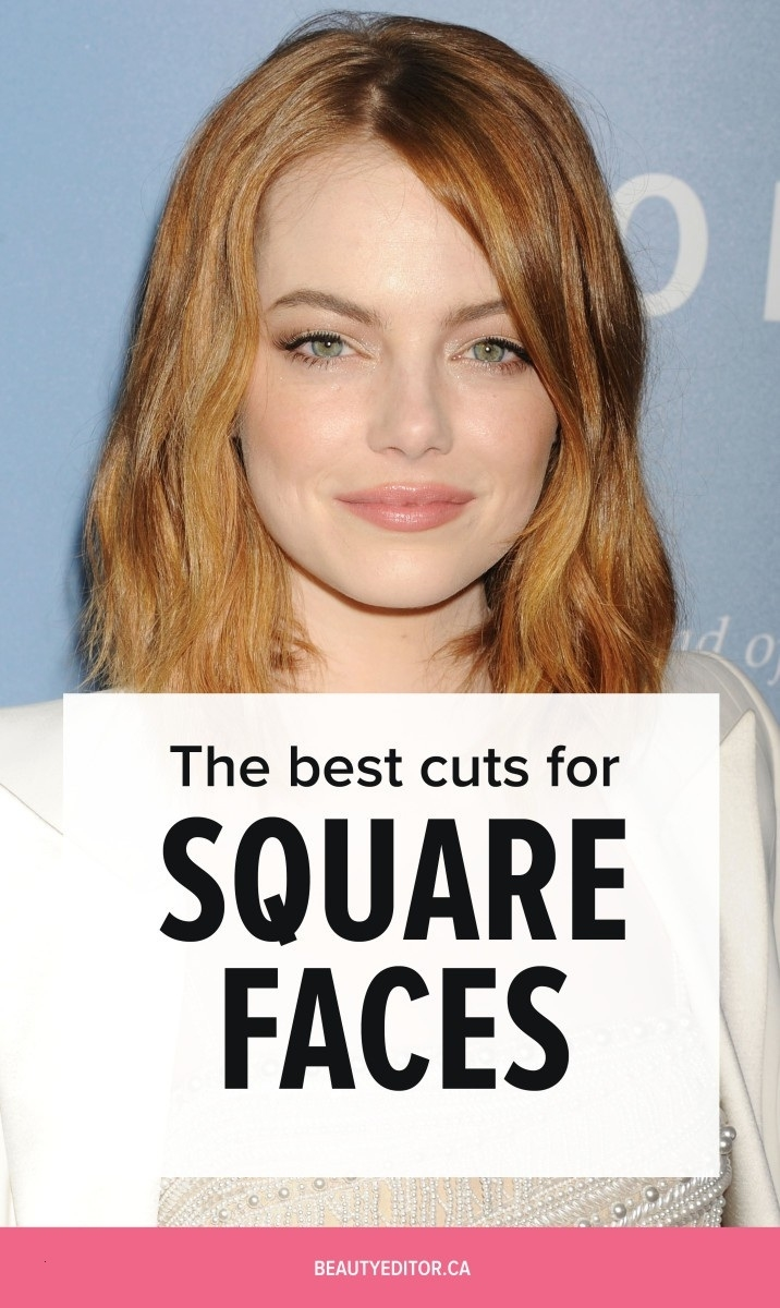 Best Haircut For Square Face Over 50 Cosmetik