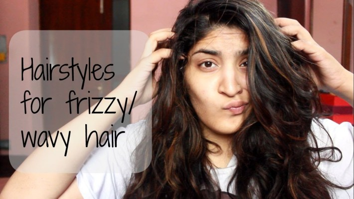 Heatless And Easy Hairstyles For Frizzy Or Wavy Hair - Youtube throughout Haircut For Wavy Rough Hair