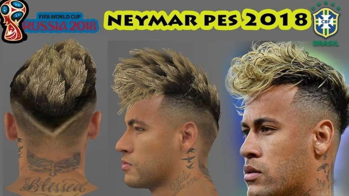 Pes 2018 Neymar New Hair (World Cup Update) - Youtube within Neymar Haircut 2018 World Cup