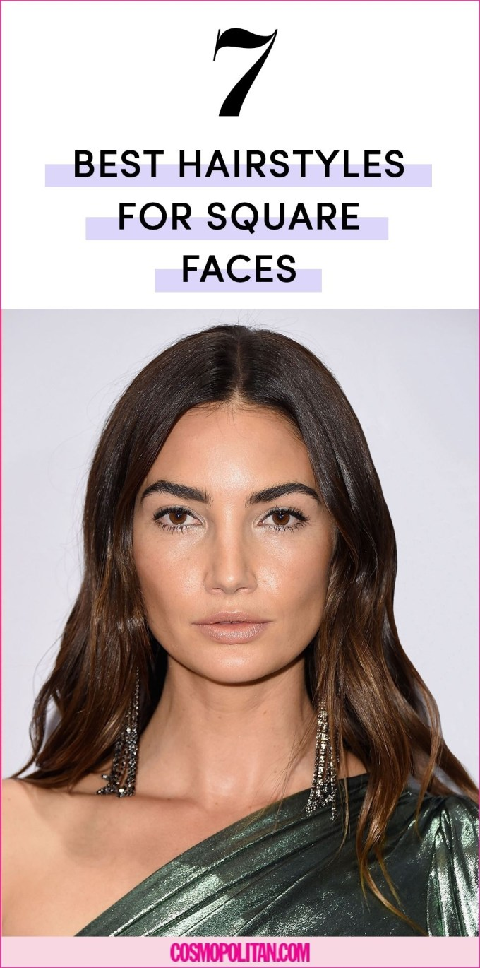 The 7 Best Hairstyles For Square Face Shapes inside Hairstyle For Square Face Small Forehead