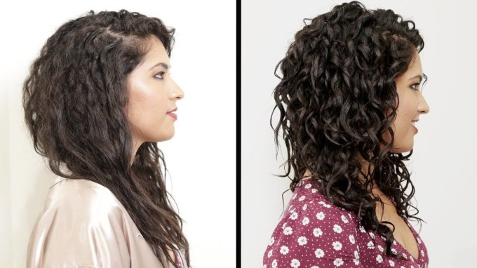 Women With Curly Hair Perfect Their Curls - Youtube inside Haircut For Curly Hair Near Me
