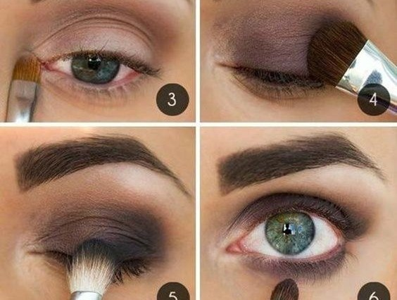 10 Step By Step Makeup Tutorials For Green Eyes - Her Style Code regarding What Color Eyeshadow For Blue Green Eyes And Dark Hair