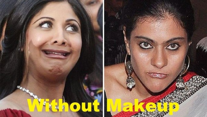 pictures of indian celebrities without makeup - wavy haircut