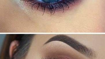35 Wedding Makeup For Blue Eyes - The Goddess in Best Eyeshadow Color For Blue Eyes And Brown Hair