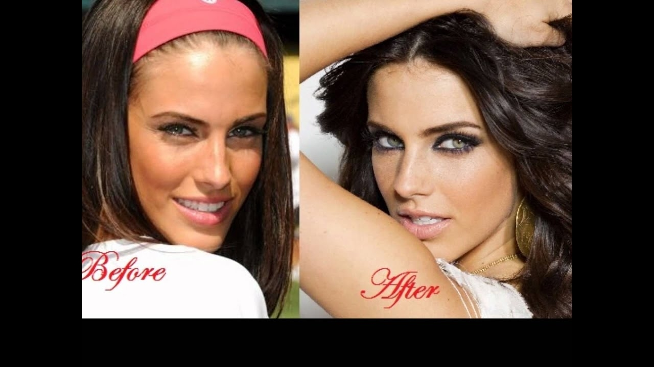 celebrities without makeup before and after 2012 - wavy haircut