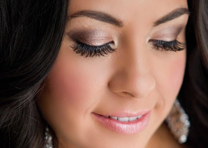wedding makeup for hazel eyes - cat eye makeup