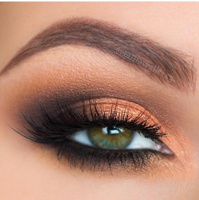 eye makeup for hazel green eyes   saubhaya makeup