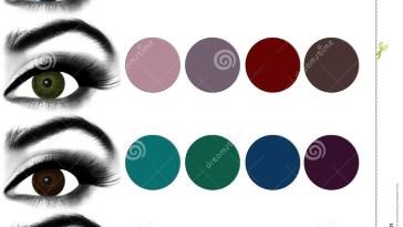 Eyes Makeup.matching Eyeshadow To Eye Color. Stock Photo - Image Of inside Best Brown Eyeshadow For Green Eyes