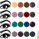 Eyes Makeup.matching Eyeshadow To Eye Color. Stock Photo - Image Of throughout Best Eyeshadow Colours For Green Eyes