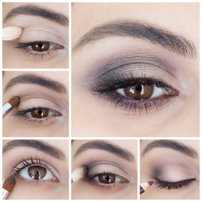 How To: Brown Smokey Eye - Simply Sona within How To Do Smokey Eye Makeup With Pictures