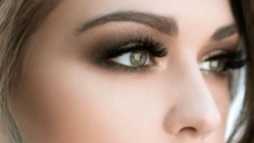 Love The Gold-Bronze-Dark Brown Eye Makeup. Really Make The Green with regard to Makeup Tips For Green Eyes And Dark Hair