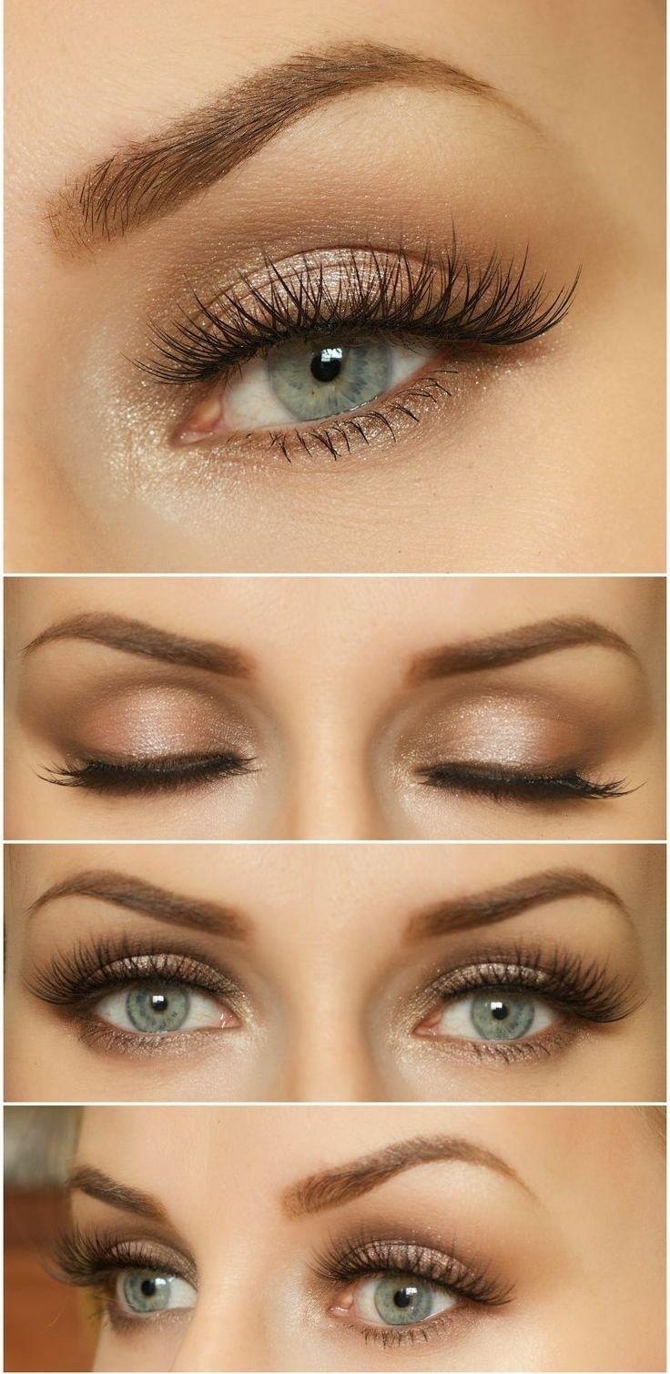 brown hair and green eyes makeup | kakaozzank.co