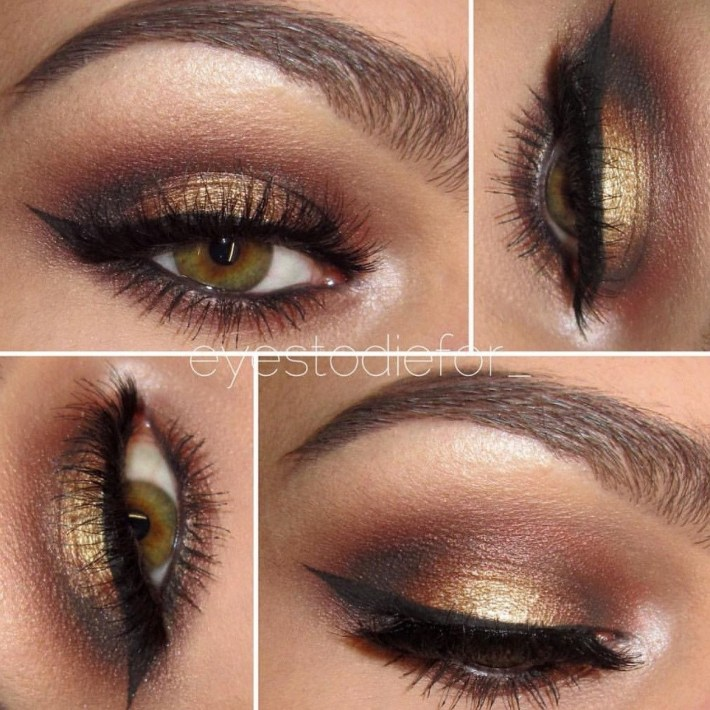 Seduction- Get This Look! All Natural, Vegan Eyeshadow And Eyeliner pertaining to Pretty Makeup Ideas For Hazel Eyes