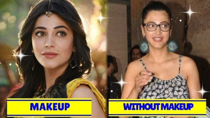 south indian celebrities without makeup before and after – wavy haircut