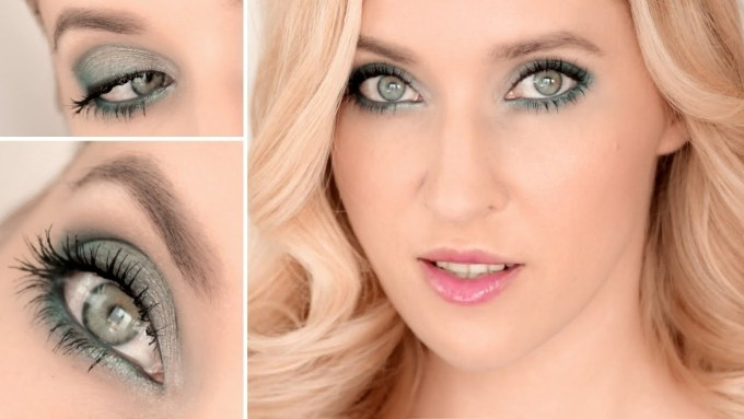 best eyeshadow color for blue gray eyes – wavy haircut