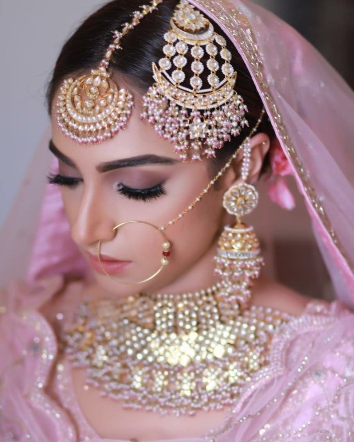 Bridal Makeup Looks Which Rocked The 2018 Indian Wedding Season - Blog pertaining to Indian Engagement Makeup Photos
