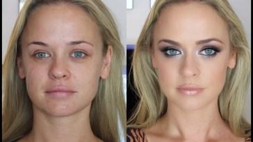 Smokey Eye Makeup Tutorial: Brown & Blue Eyes. - Youtube within How To Apply Smoky Eye Makeup For Blue Eyes