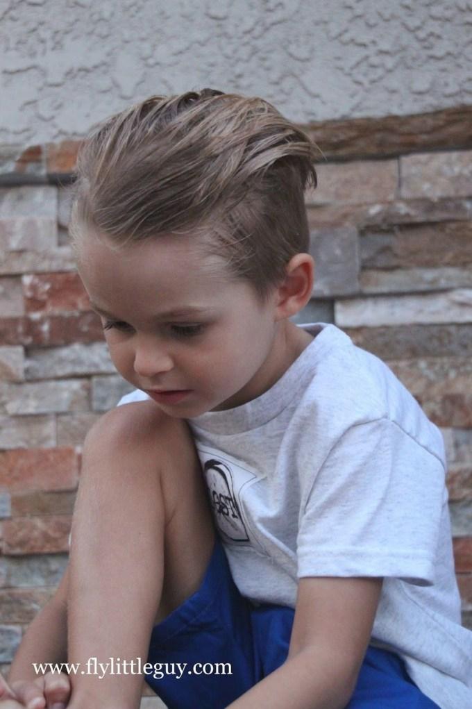 hair cut 6 year old - wavy haircut