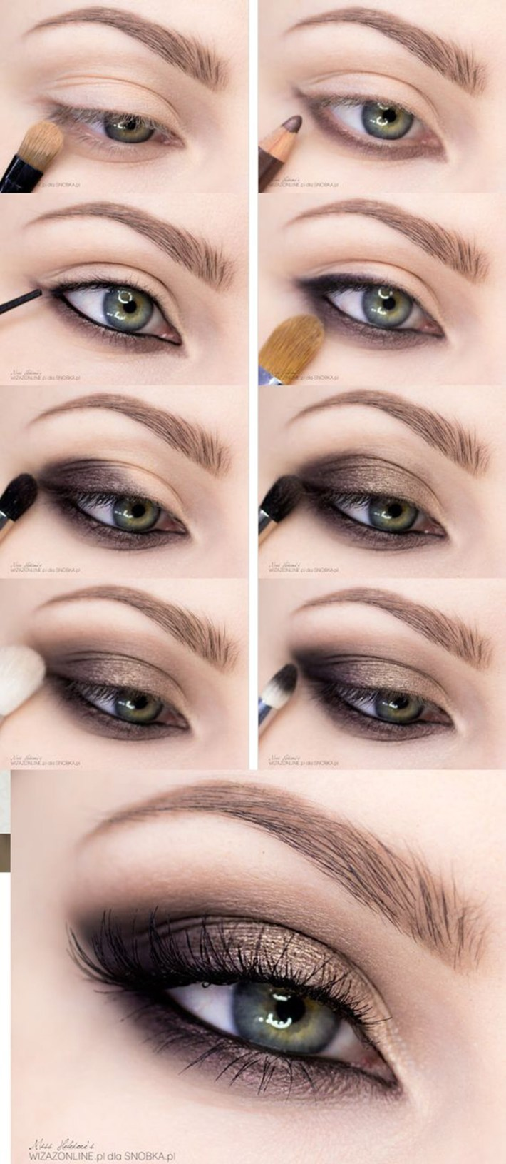 15 Smokey Eye Tutorials - Step By Step Guide To Perfect Hollywood Makeup with regard to Smoky Eye Makeup Photos