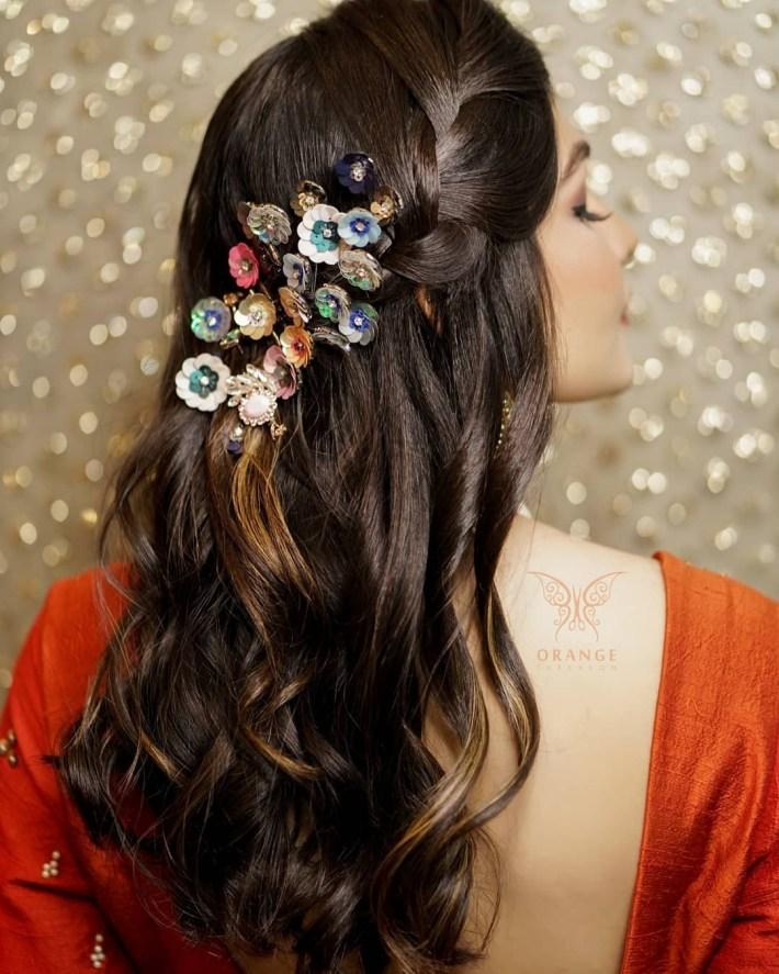 20 Unique And Trending Bridal Hair Accessories For The Modern Indian in Indian Bridal Hair Accessories List